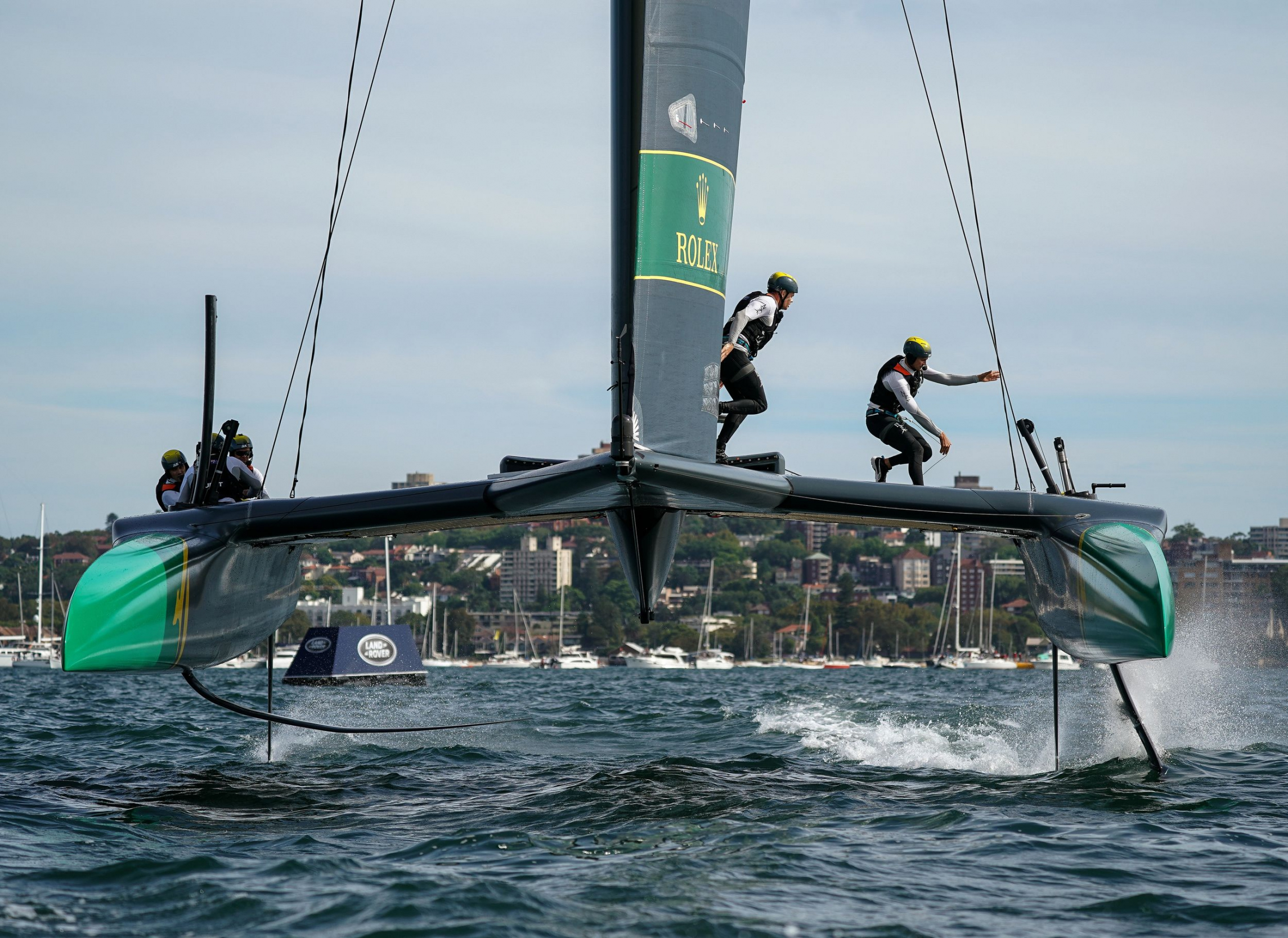 Australia SAILGP Team skippered by Tom Slingsby