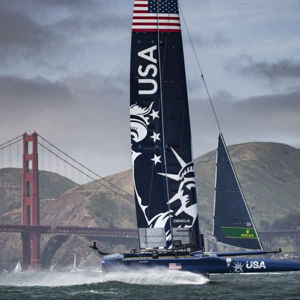 United States SailGP Team skippered by Rome Kirby