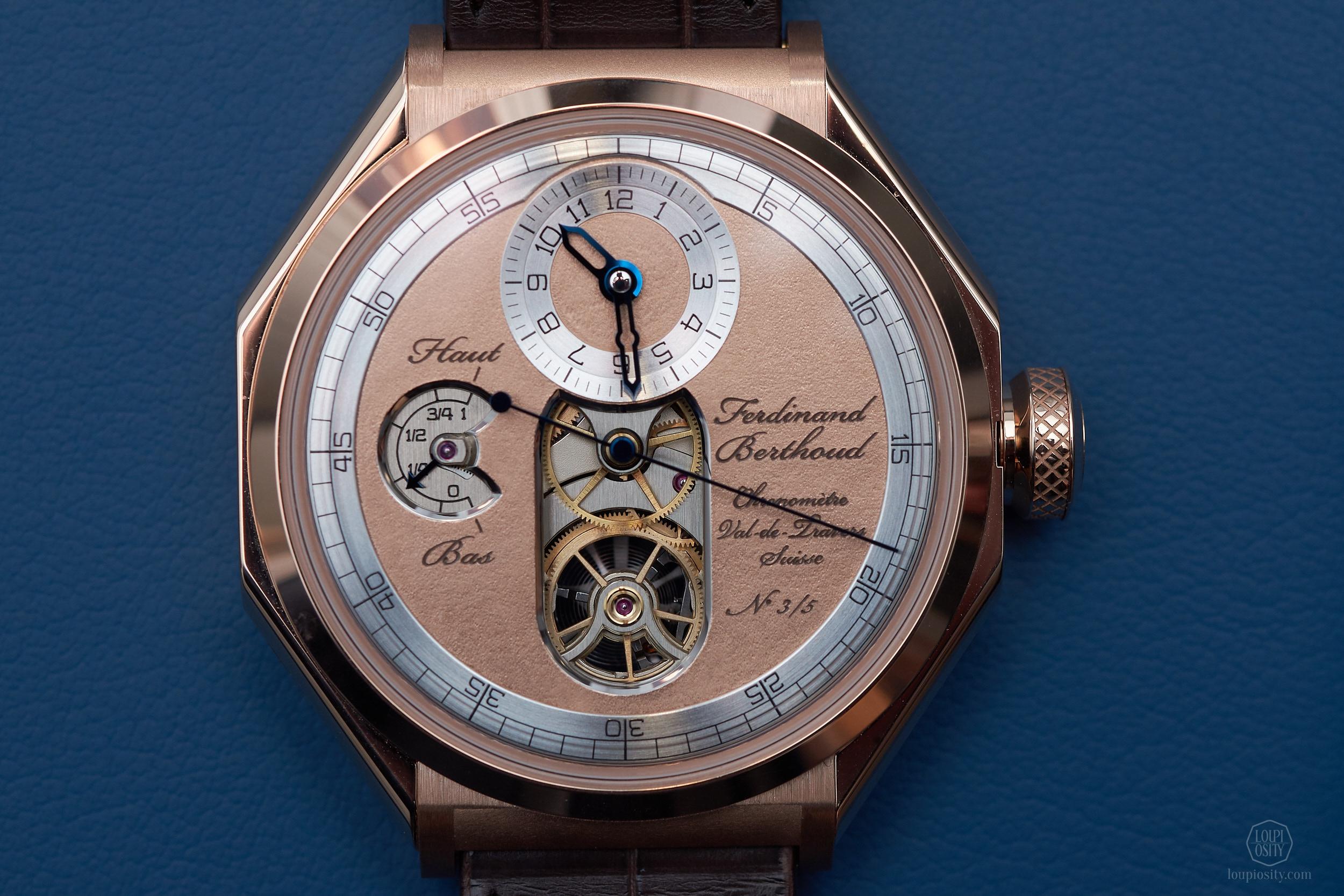 Chronométrie Ferdinand Berthoud 'Oeuvre d'Or' - rose gold