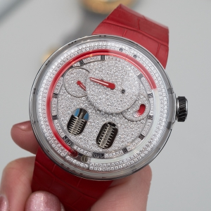 HYT H0 - diamond set red version
