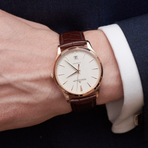 Jaeger-LeCoultre Master Ultra Thin Date pink gold