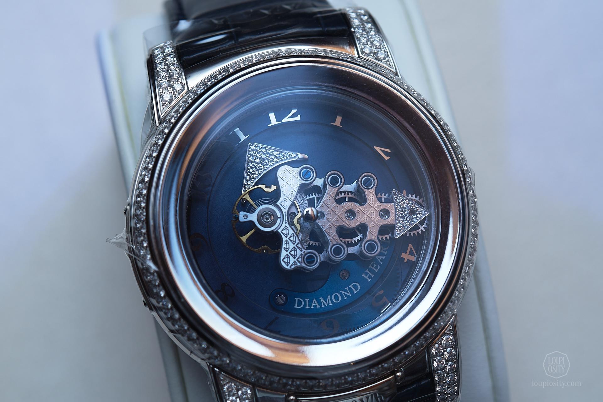 Ulysse Nardin Freak 28'800 V/h Diamond Heart