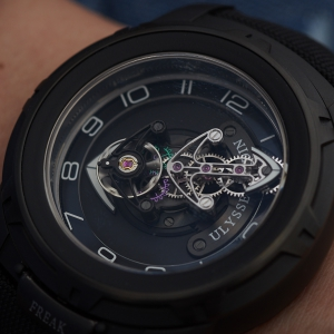 Ulysse Nardin Freak Out in full black