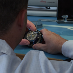 Ulysse Nardin Stranger at a watch maker