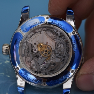 Calibre UN-78 of the Ulysse Nardin Hannibal Minute Repeater Tourbillon