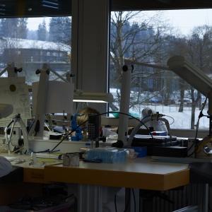 Workbenches at Ulysse Nardin