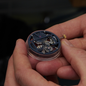 Caliber UN-171 of the Ulysse Nardin Executive Skeleton Tourbillon