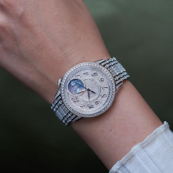 Vacheron Constantin Égérie Moon-phase Jewellery