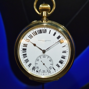 24h movement and dial, pocket watch