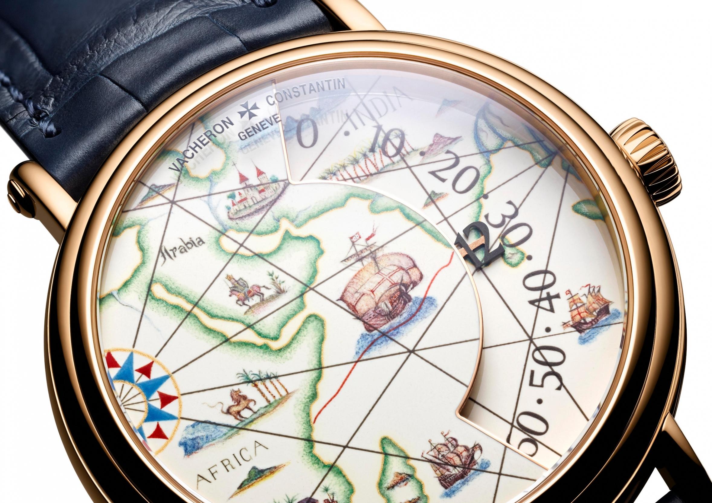 Métiers d'Art Tribute to great explorers - Vasco De Gama
