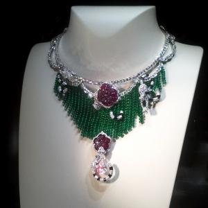 Nuit d\'Équateur necklace