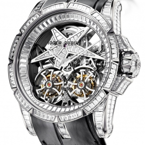 Excalibur EX45 01SQ Full set diamonds baguettes star baguettes