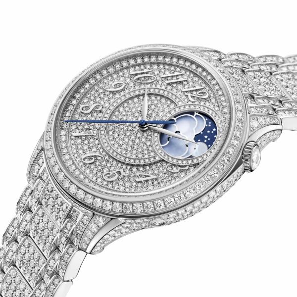 Vacheron Constantin - Égérie moon phase jewellery