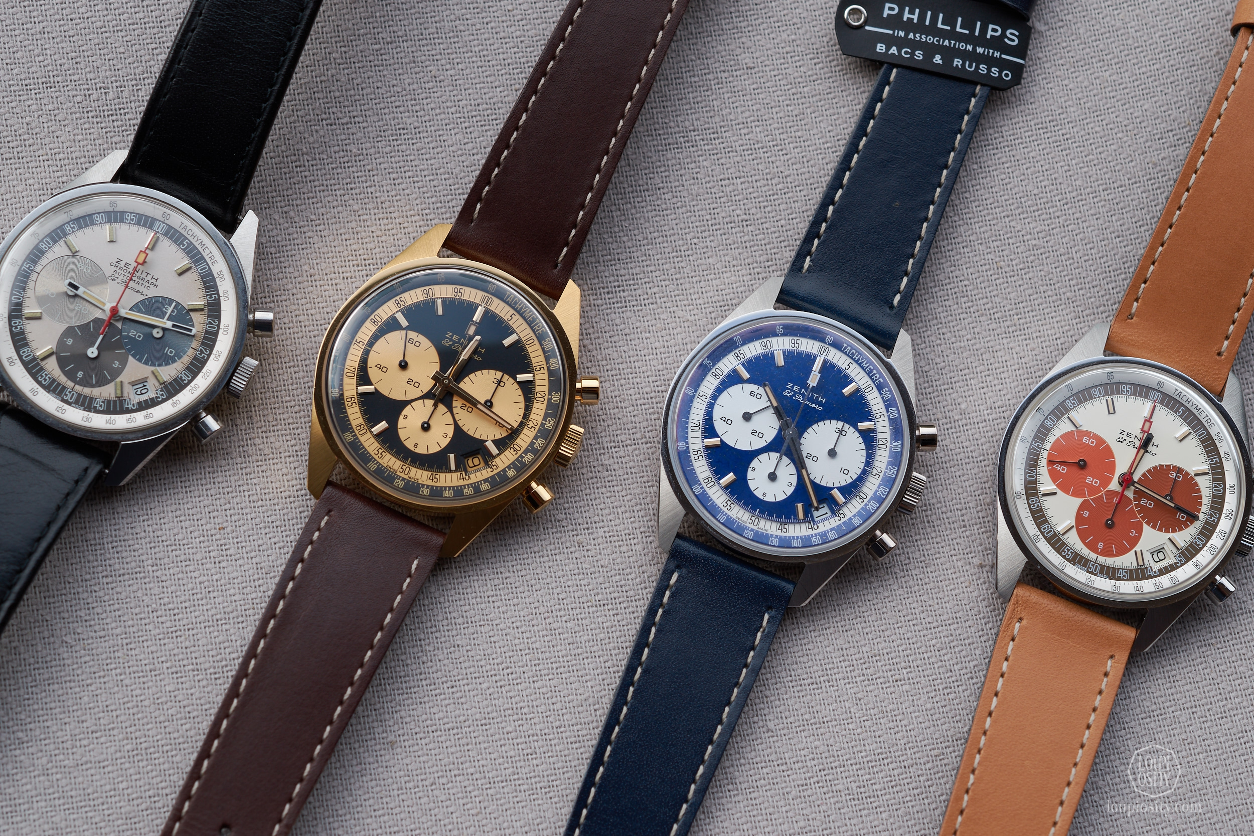 An 1969 original example and the Zenith El Primero 50 anniversary pieces