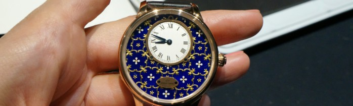 Grande heure at Baselworld