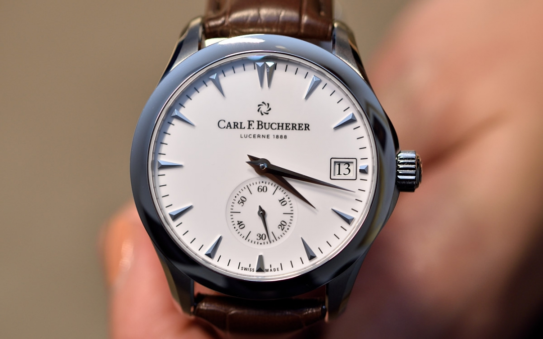 """Distinct Gold"" – Carl F. Bucherer"
