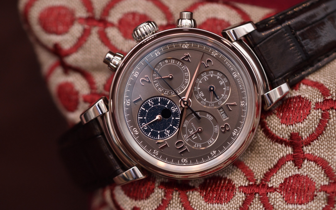 The 2017 IWC Da Vinci chronographs