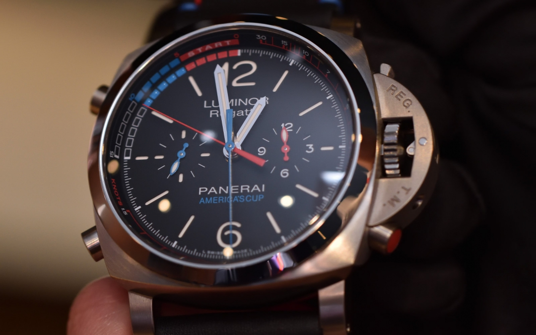 Panerai and the America's Cup