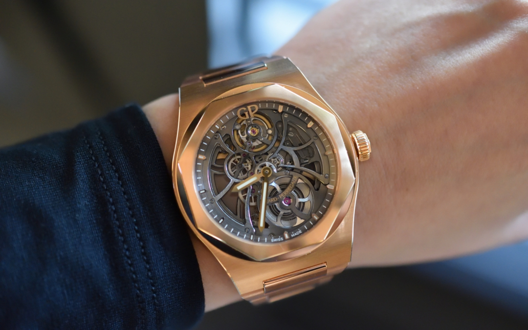 Premier of the Girard-Perregaux Laureato Skeleton