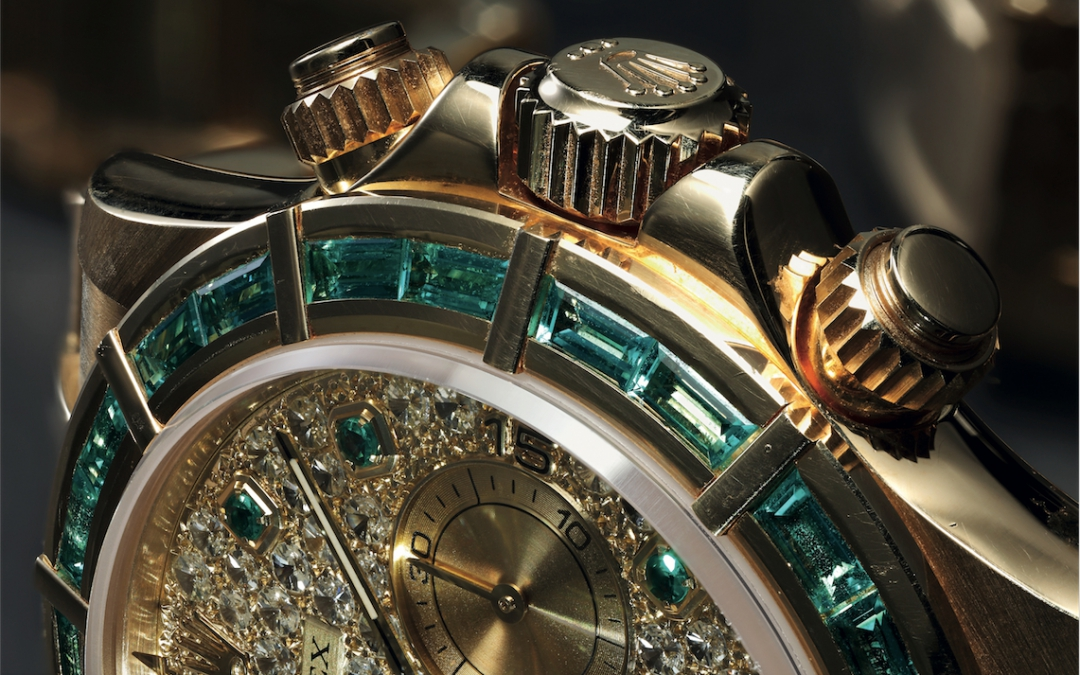 Automatic Rolex Daytona exhibition at Phillips Watches