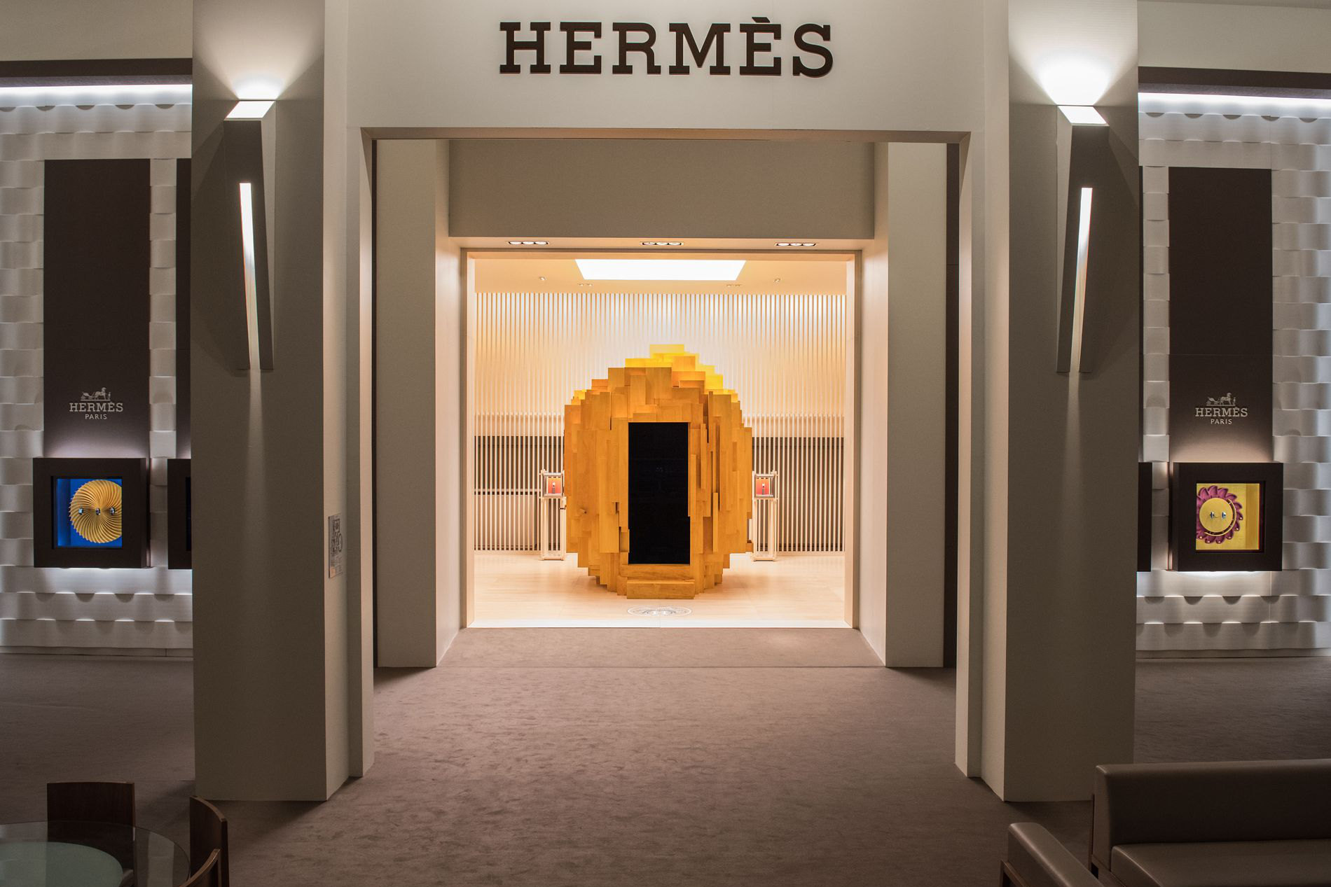 Herm 232 S Stand At Sihh 2018 Designed By Denis Montel