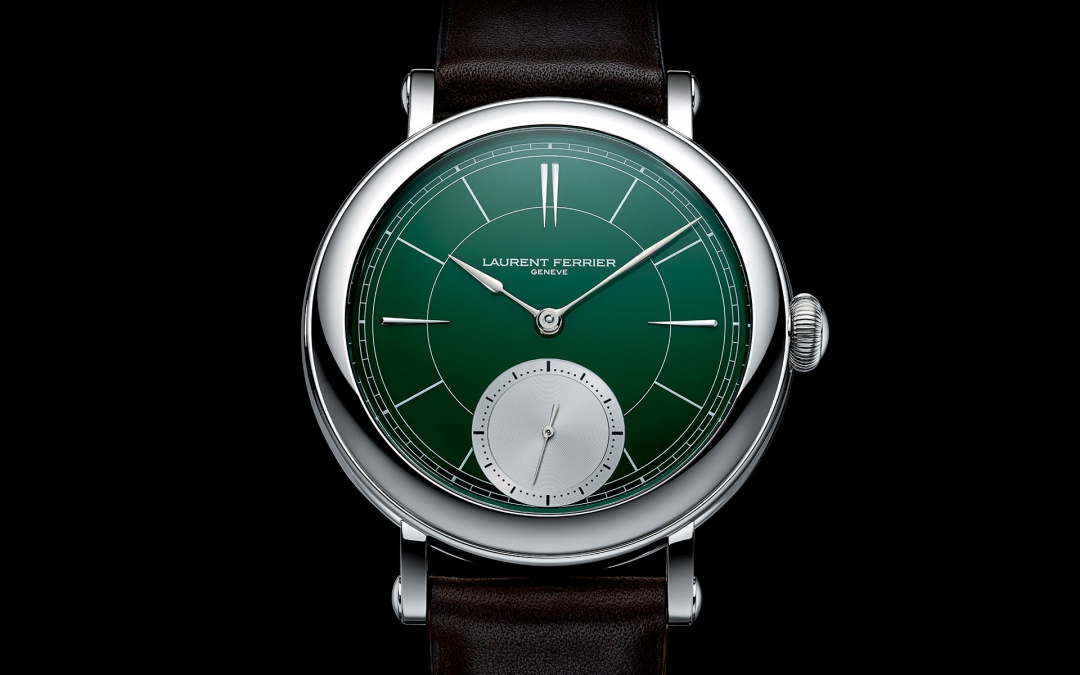 "Laurent Ferrier Galet Micro-Rotor ""Montre Ecole"" British Racing Green"