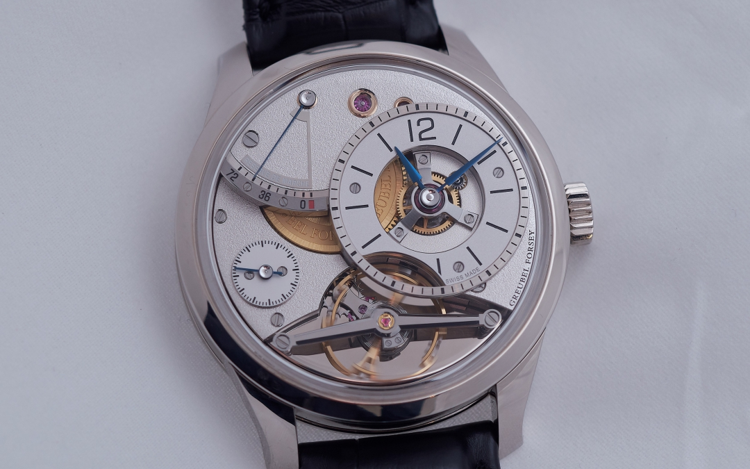 Art Piece Edition Historique & Balancier Contemporain by Greubel Forsey