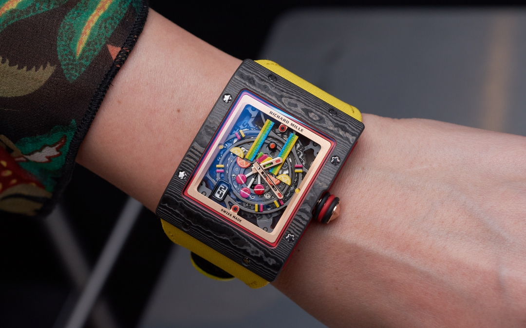 The Candy Shop of Richard Mille