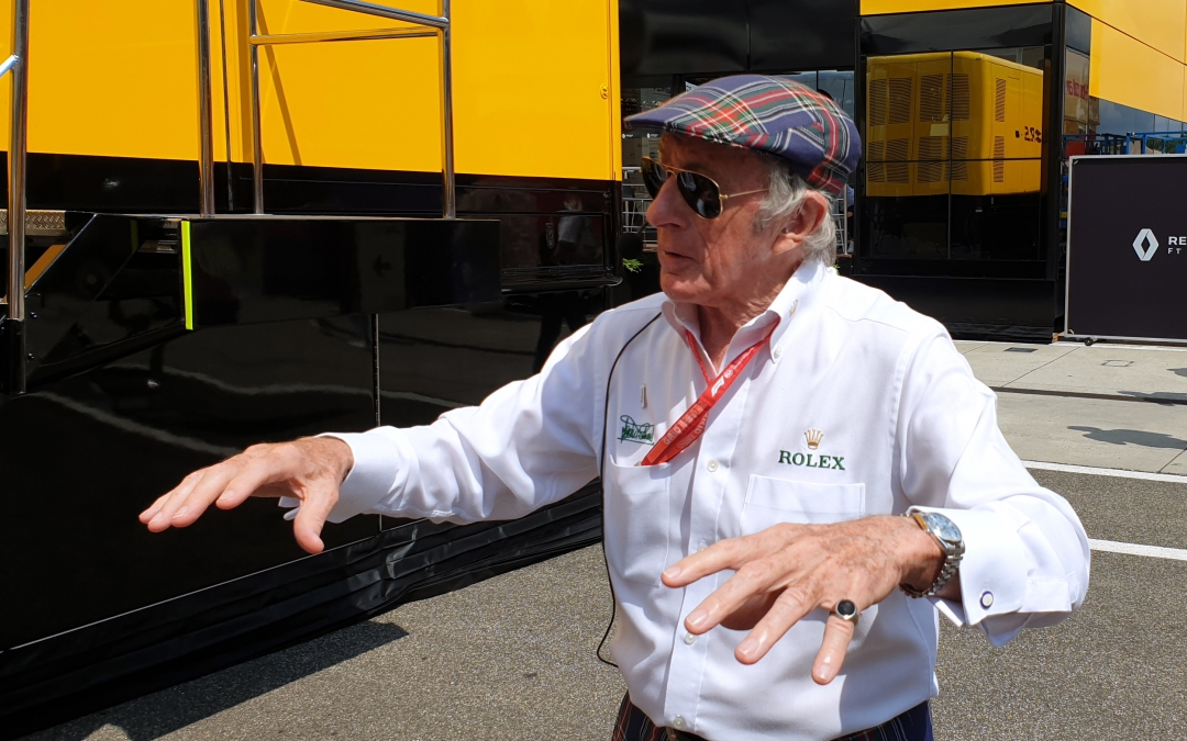 Sir Jackie Stewart and Rolex