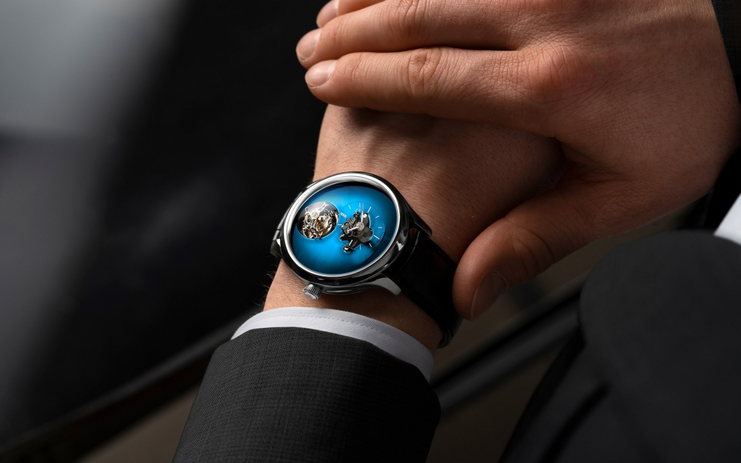 MB&F and H.Moser & Cie join forces - 'united we stand among independents'