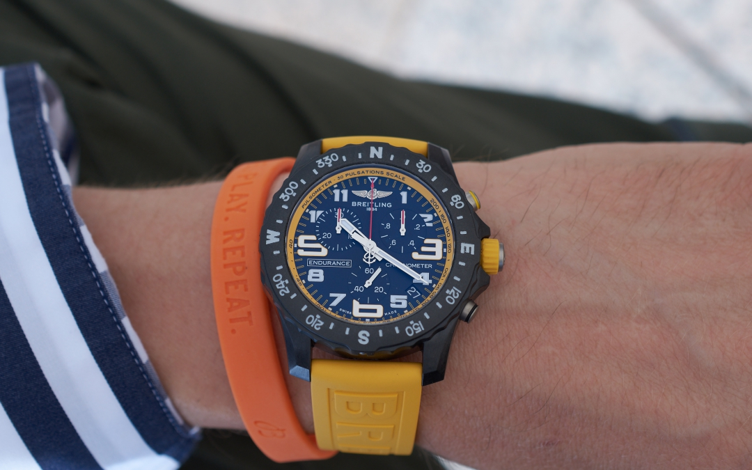 Live. Play. Repeat - Breitling Endurance Pro