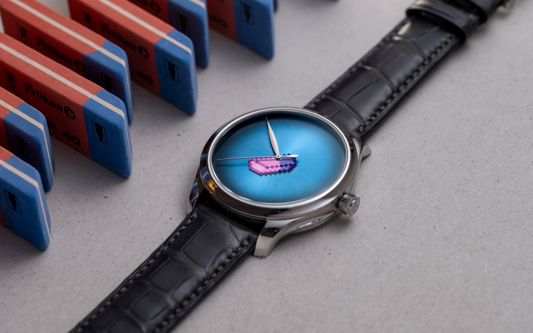 H.Moser & Cie. - erase the brand to sublimate the creation